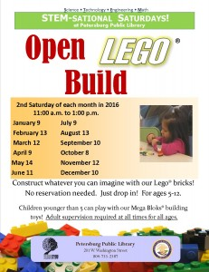Open Lego Build STEMsational