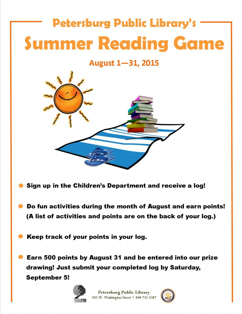 Summer Reading Game full page